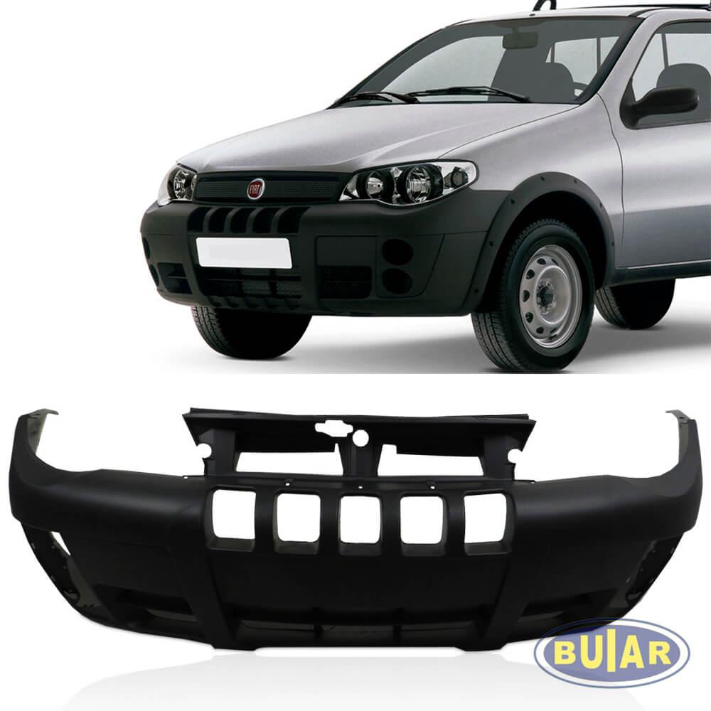 Parachoque strada e Palio Adventure 2005 a 2010 texturizado dianteiro - Buiar Auto Peças - Comércio de Peças em Araucária