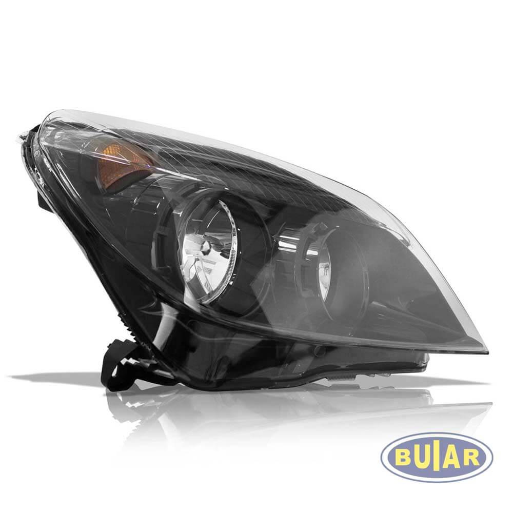 Farol Vectra GTX 2009 a 2011 máscara negra - Buiar Auto Peças - Comércio de Peças em Araucária