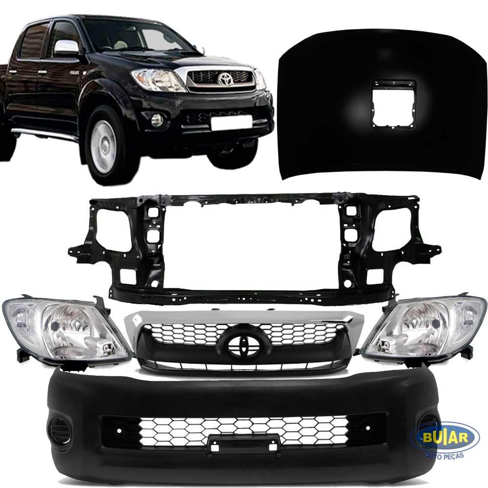 Kit Frente Toyota hilux 2009 a 2011 pick up - Buiar Auto Peças - Comércio de Peças em Araucária