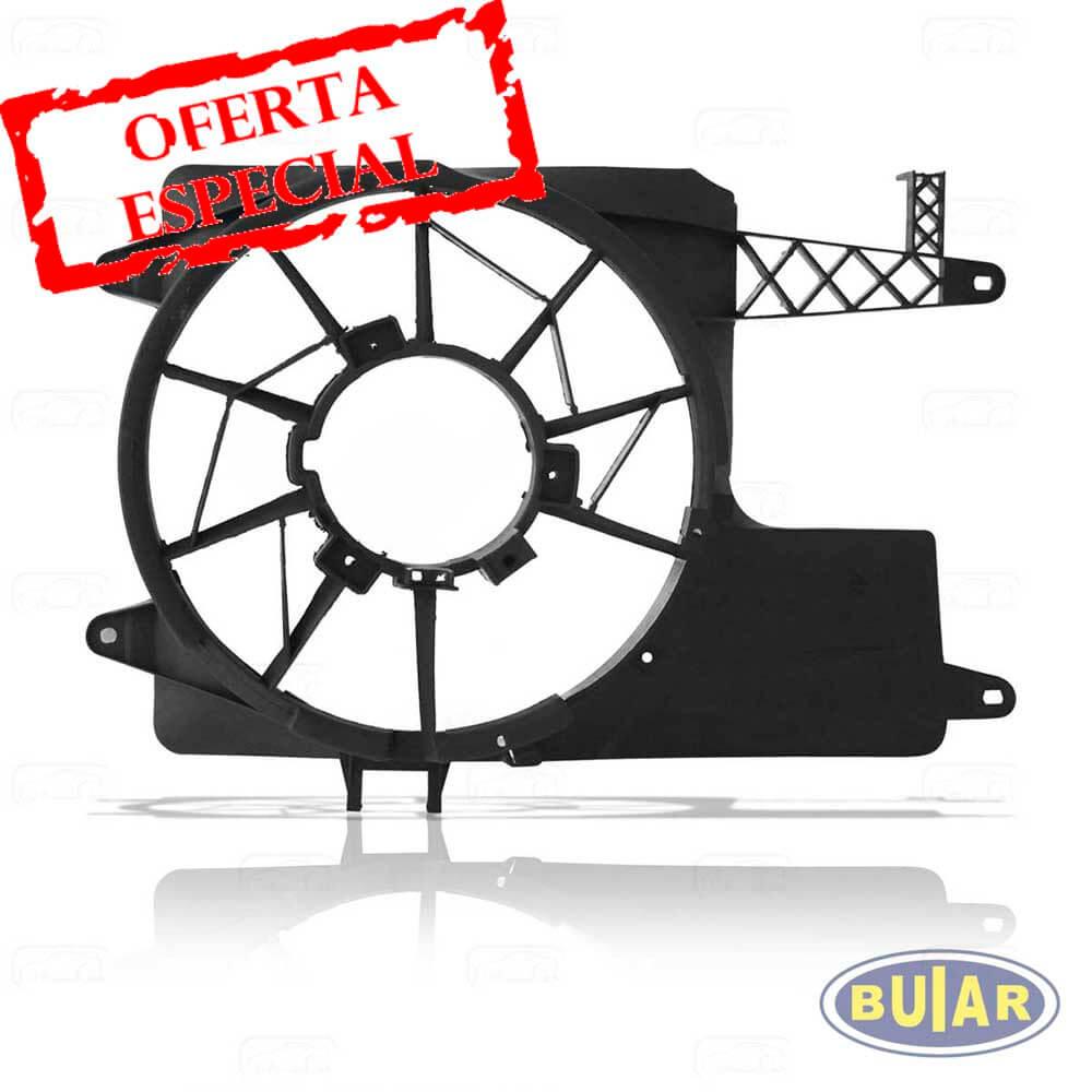 Suporte da ventoinha (Defletor) Gol G2, G3, G4 ano 95 a 2008 c/ar - Buiar Auto Peças - Comércio de Peças em Araucária